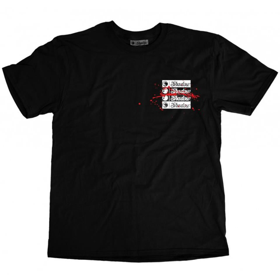 Shadow Back Against the Wall T-Shirt - Black