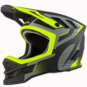 O'Neal Hyperlite IPX Race Helmet - Grey/Neon Yellow