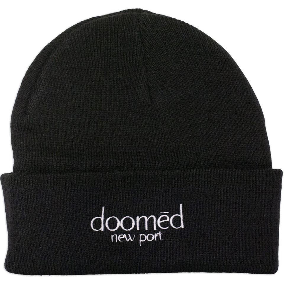 Doomed New Port Beanie - Black