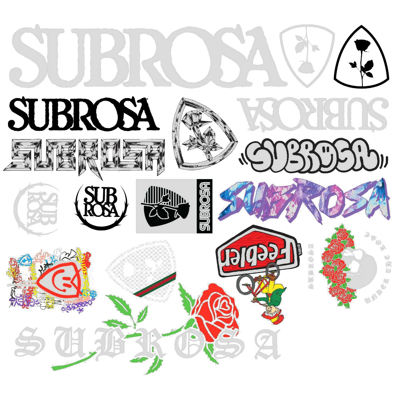 Subrosa 2019 Sticker Pack