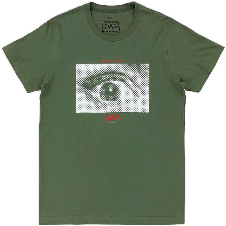 Cult All Eyes T-Shirt - Green