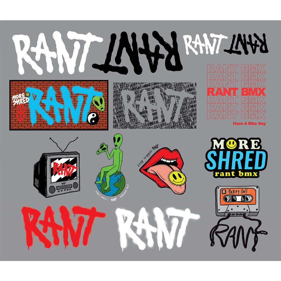 2020 Rant Sticker Pack