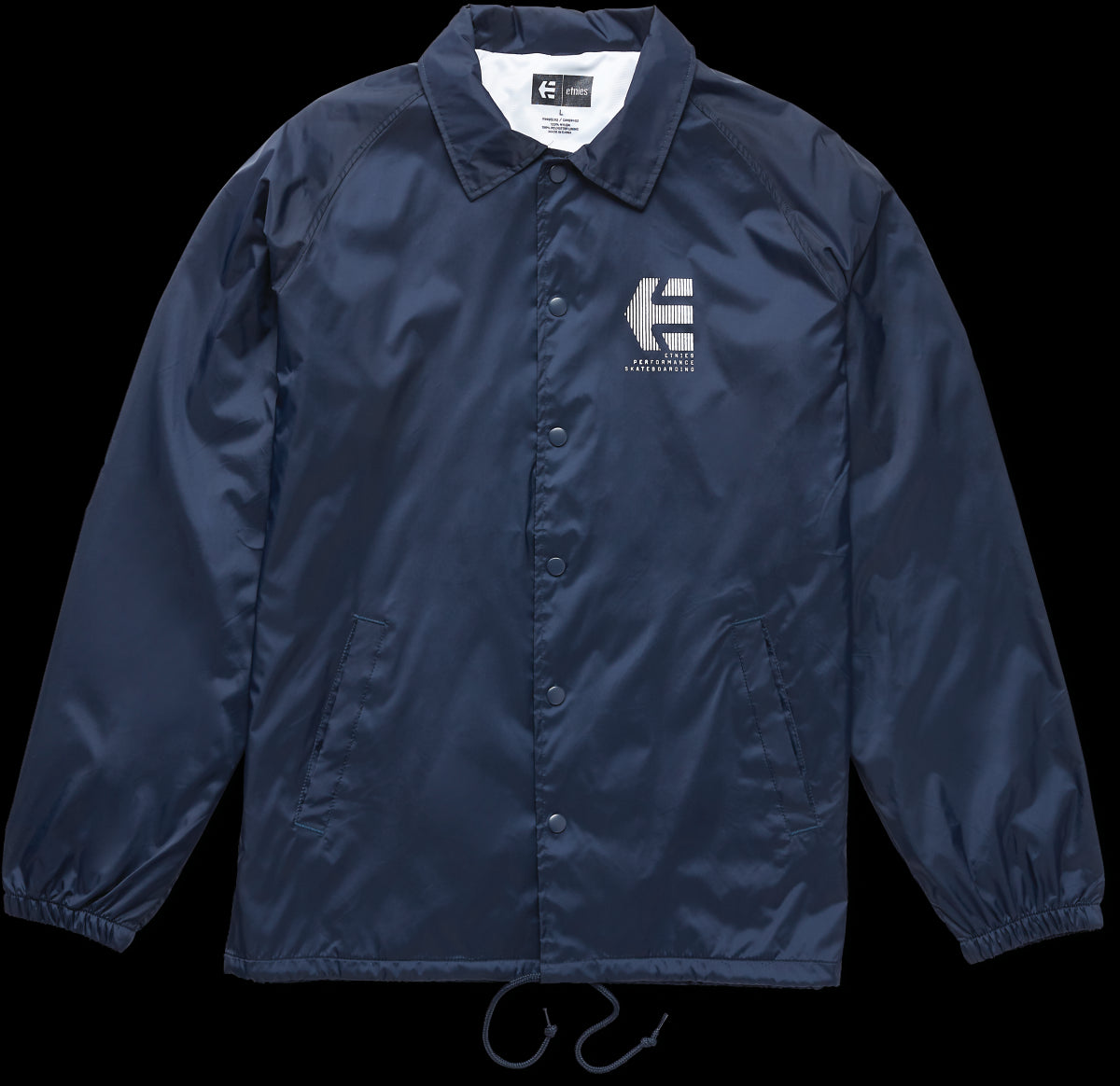 Etnies Ply Coaches Jacket - Navy