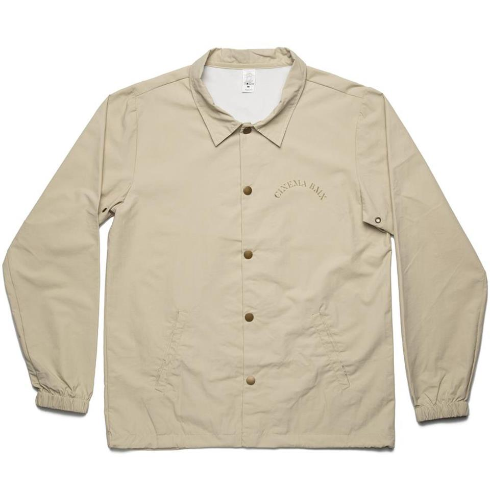 Cinema Full Circle Coaches Jacket - Khaki