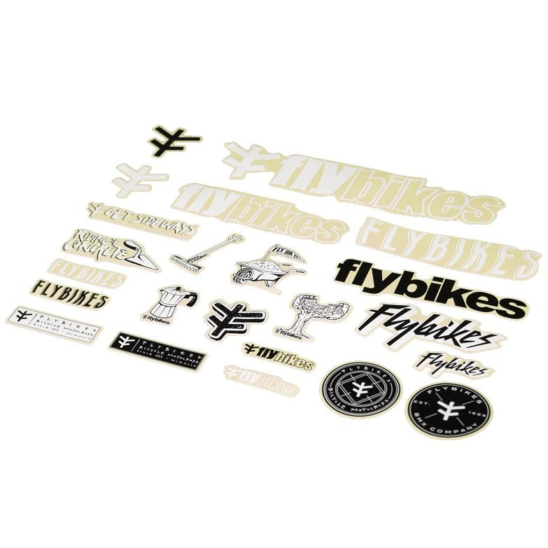 Fly 2019 Stickers Kit Assorted