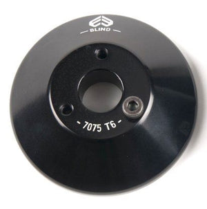 Eclat Blind Rear Alloy Hub Guard Black