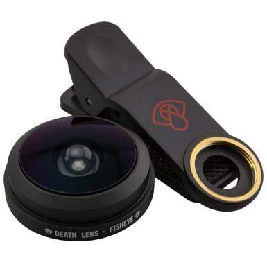 Death Lens Clip on Fisheye Lens Black