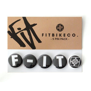 Fit Button Badge Pack