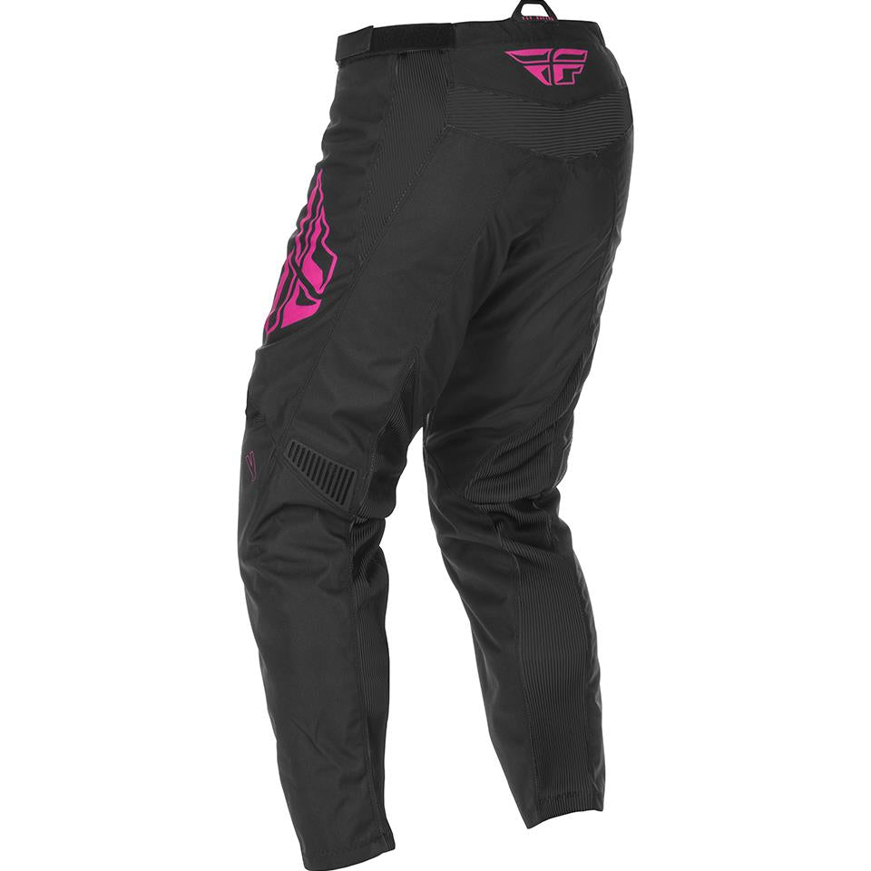 Fly Racing Youth F-16 Race Pant - Black/Pink