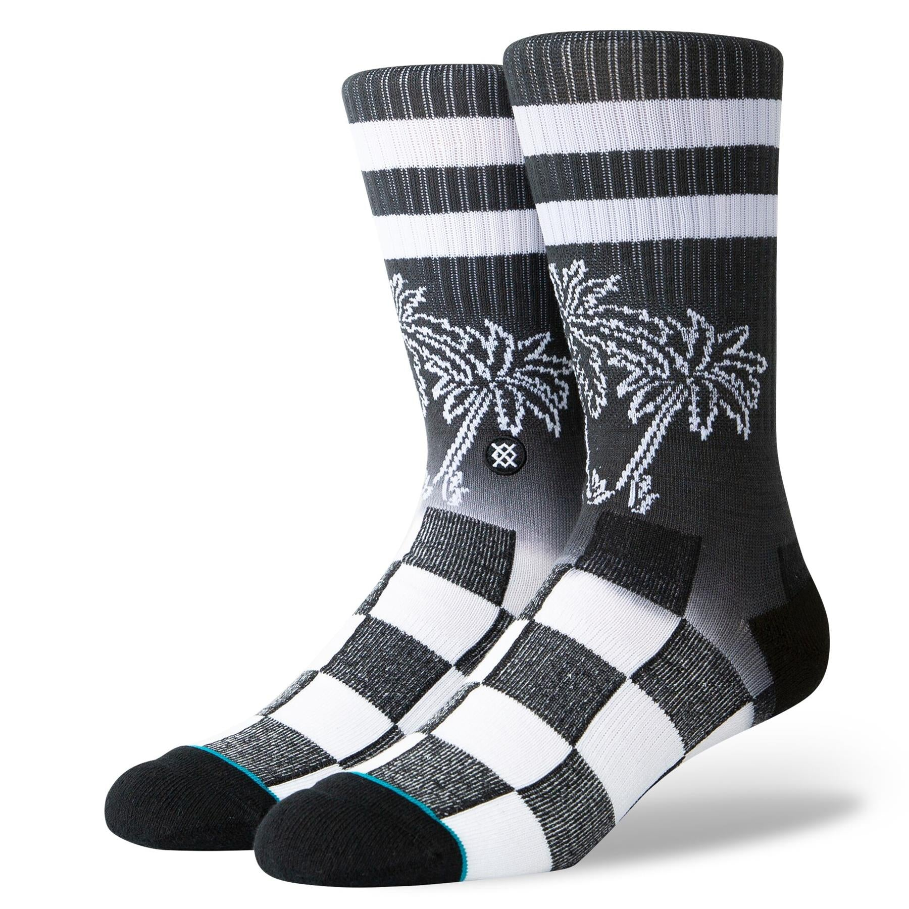 Stance Dipped Socks - Black/ Large