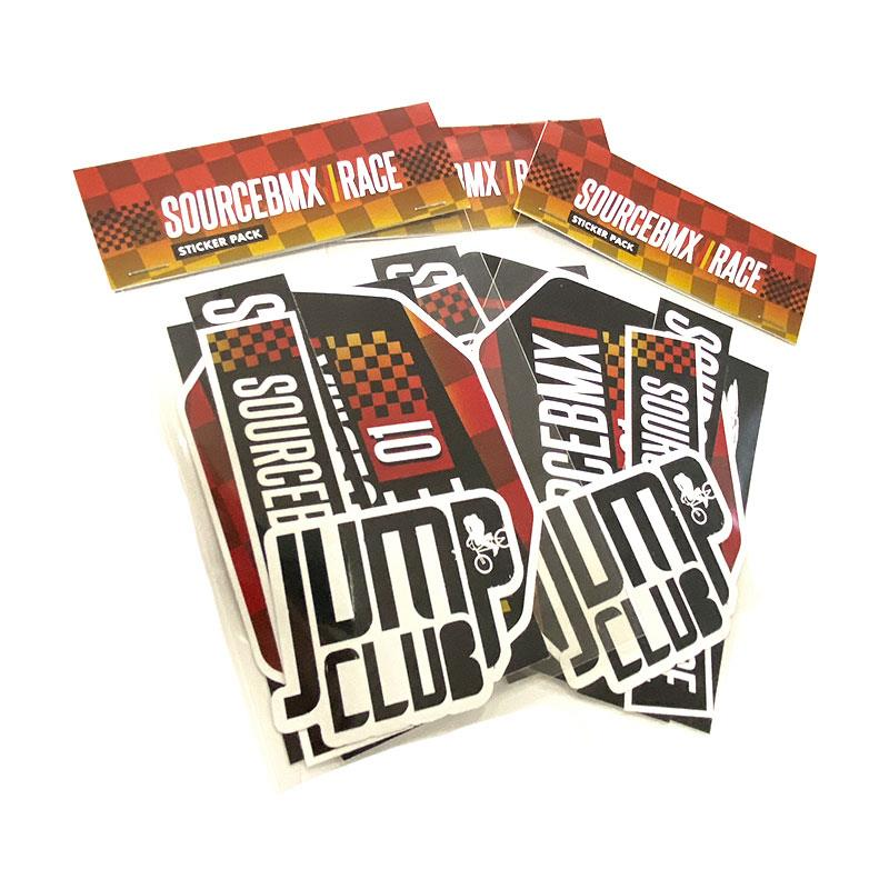 Source BMX Race Sticker Pack