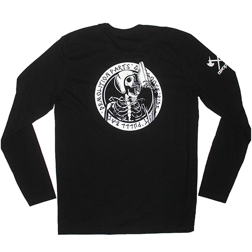 Demolition Jason Watts Fast & Loose Long Sleeve T-Shirt - Black