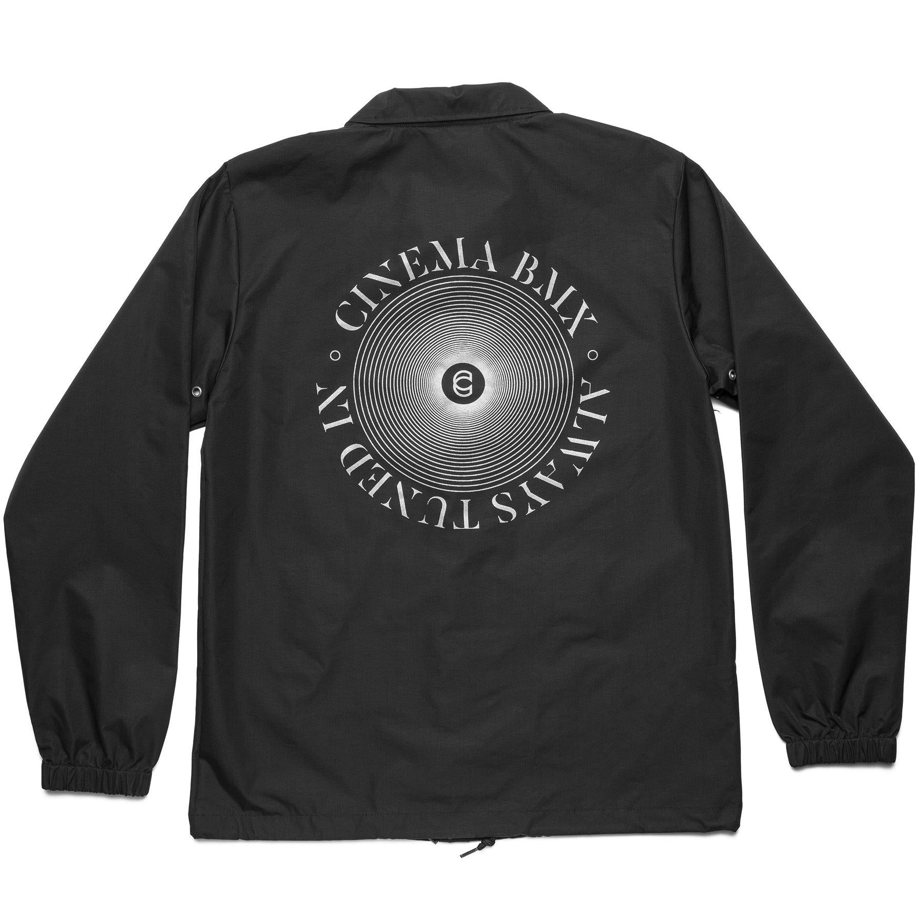 Cinema Full Circle Coaches Jacket - Black
