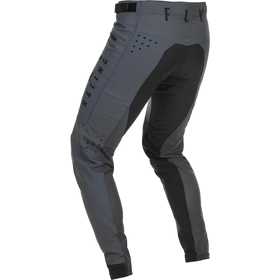 Fly Racing Youth Kinetic Race Pant - Grey
