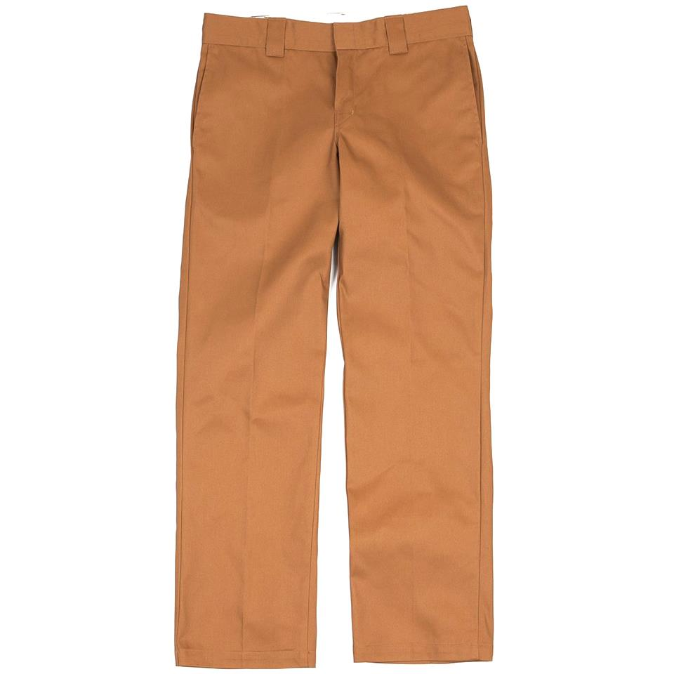 Dickies Slim Straight Leg Work Pant - Brown Duck