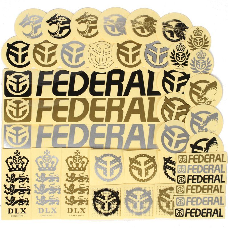 Federal Assorted Sticker Pack