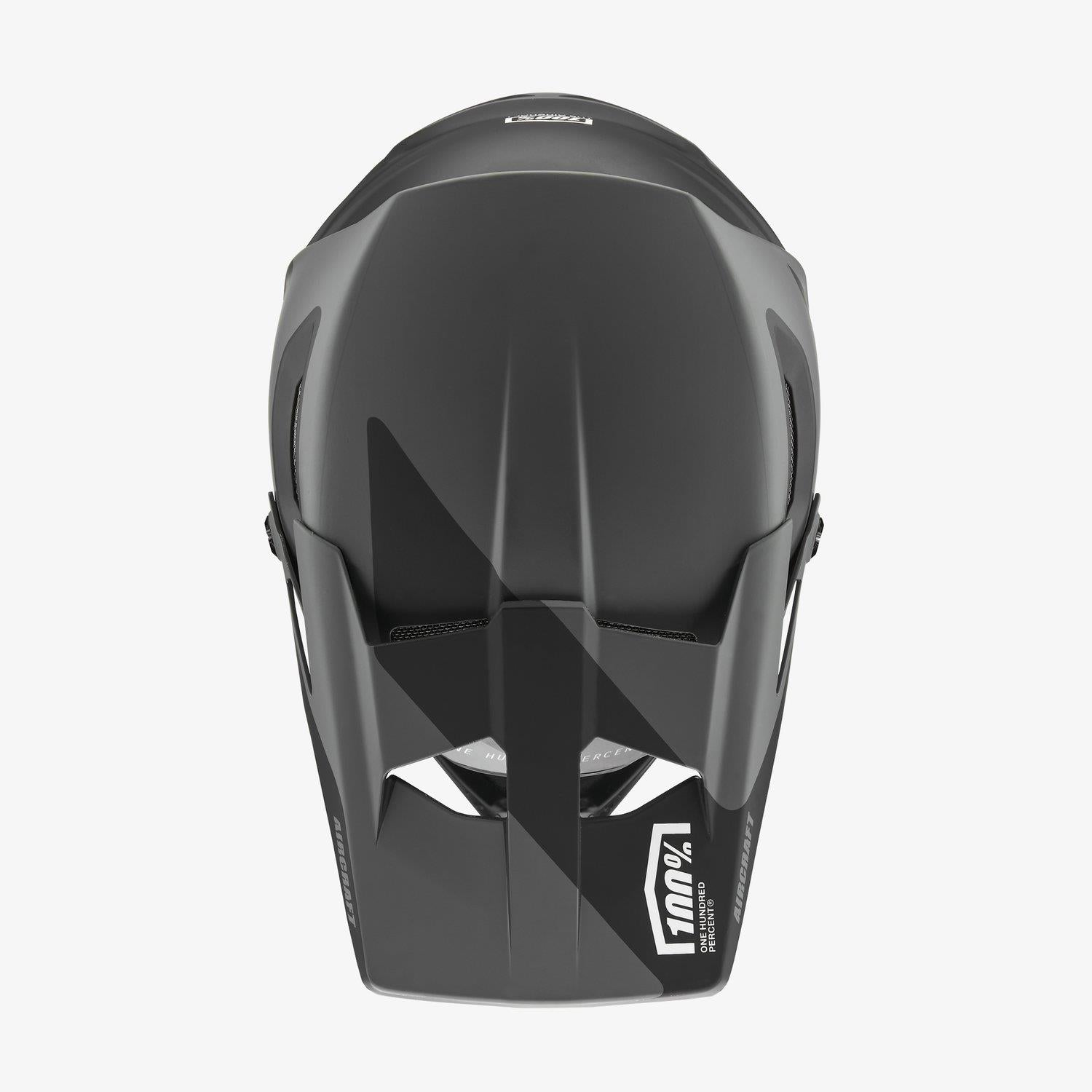 100% Aircraft Composite Race Helmet - LTD Black