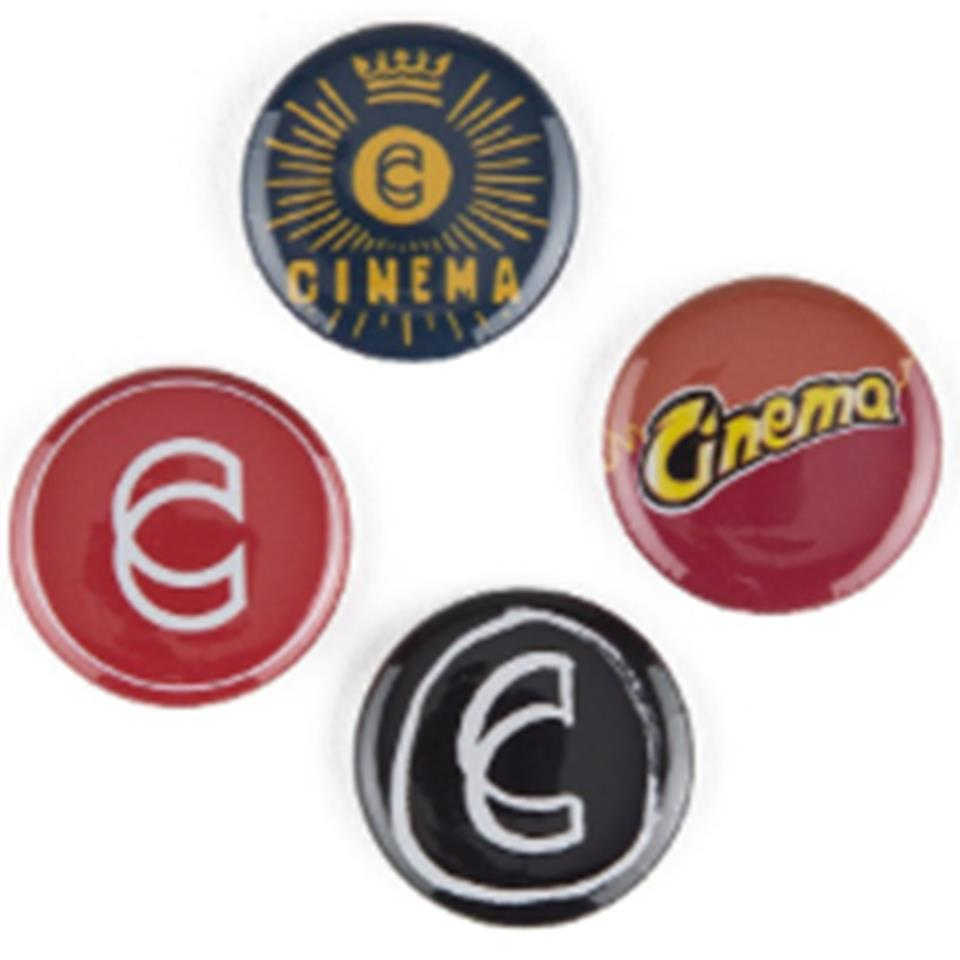 Cinema Assorted Button Pack