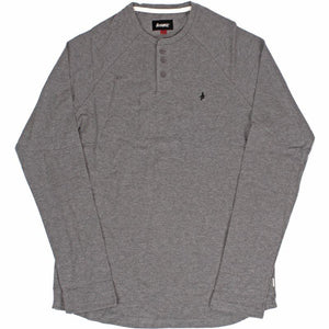 Altamont Portman Henley Top - Grey/Heather