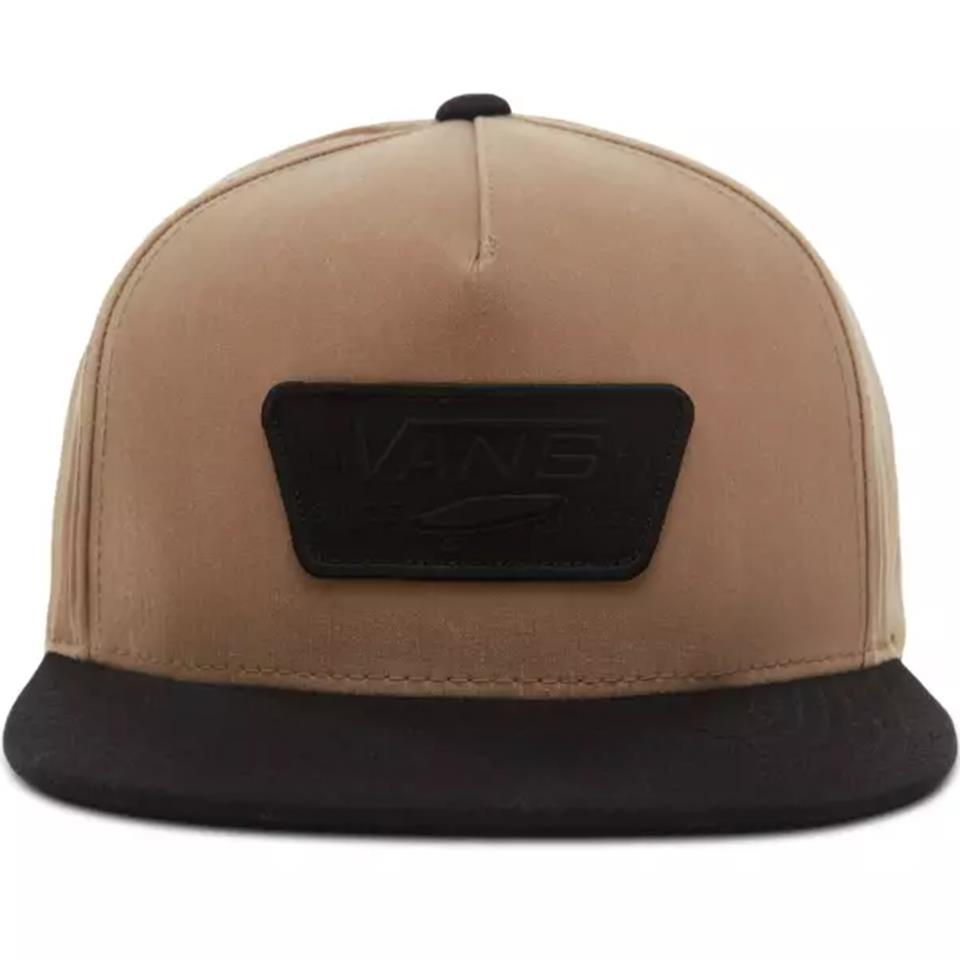 Vans Full Patch Snapback - Dirt/Black