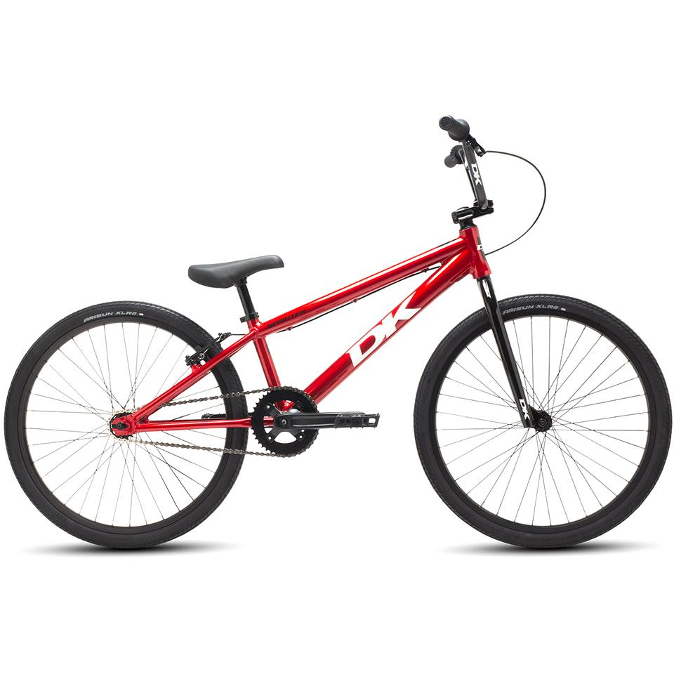 "DK Sprinter Cruiser 24"" Race BMX Bike 2019 - Red"