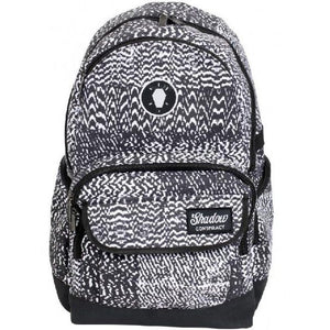 Shadow Static Backpack Black/White