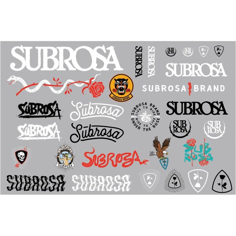 Subrosa 2018 Sticker Pack
