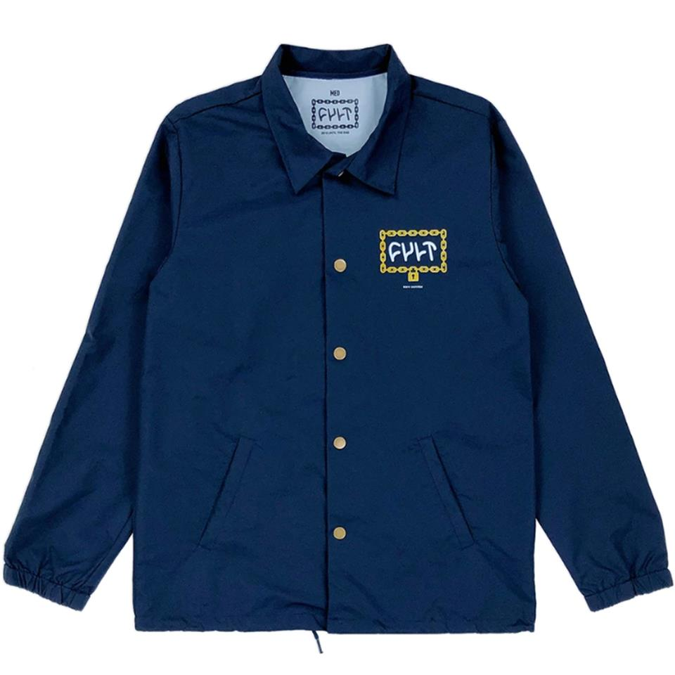 Cult Throw Away The Key Jacket - Navy