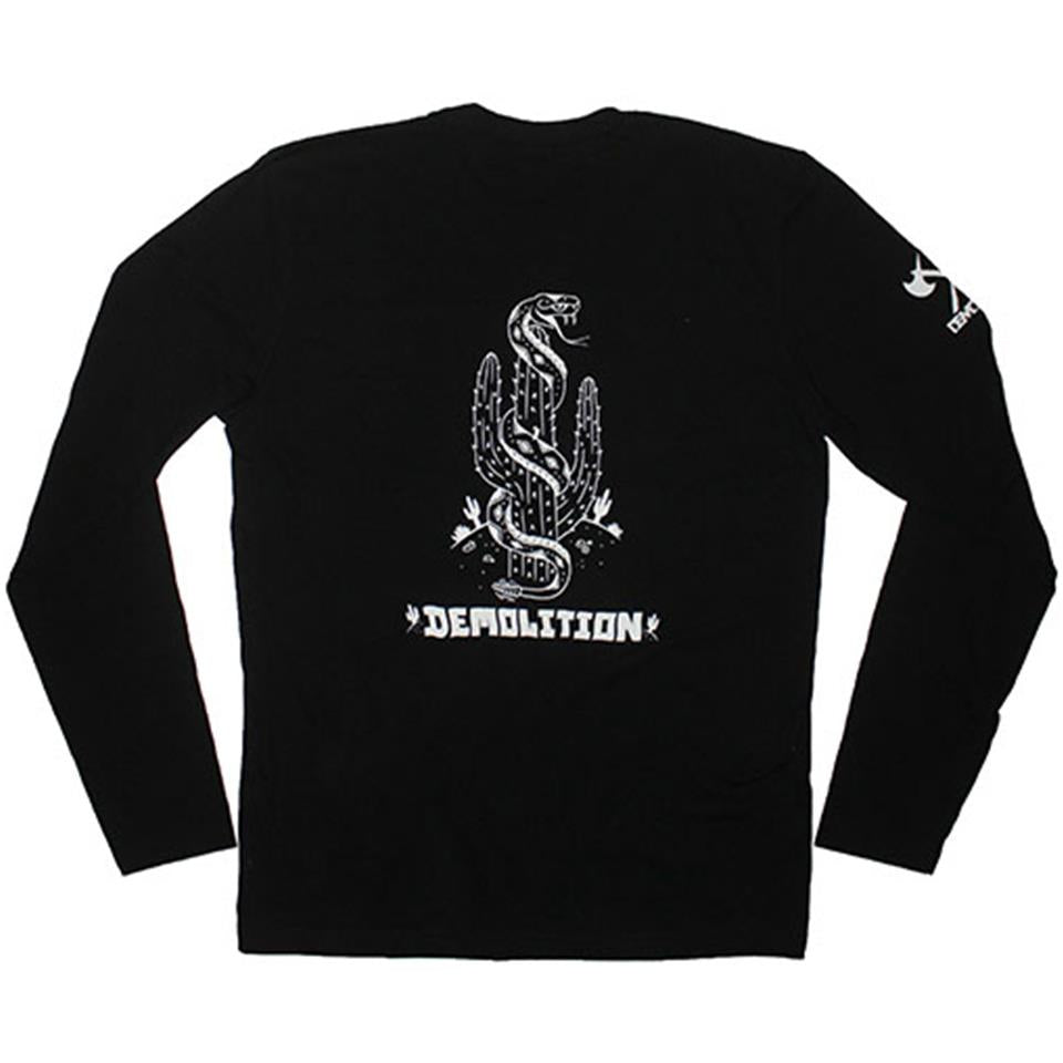 Demolition Kevin Peraza Heat Wave Long Sleeve T-Shirt - Black