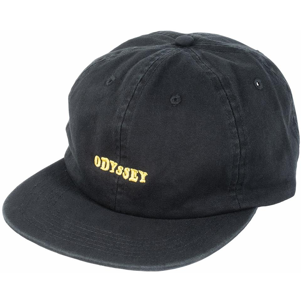 Odyssey Ease Unstructured Hat - Black
