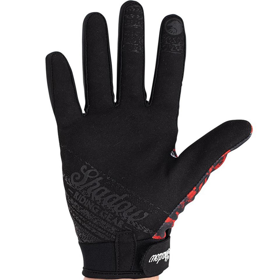 Shadow Jr. Conspire Gloves - Red Tye Die
