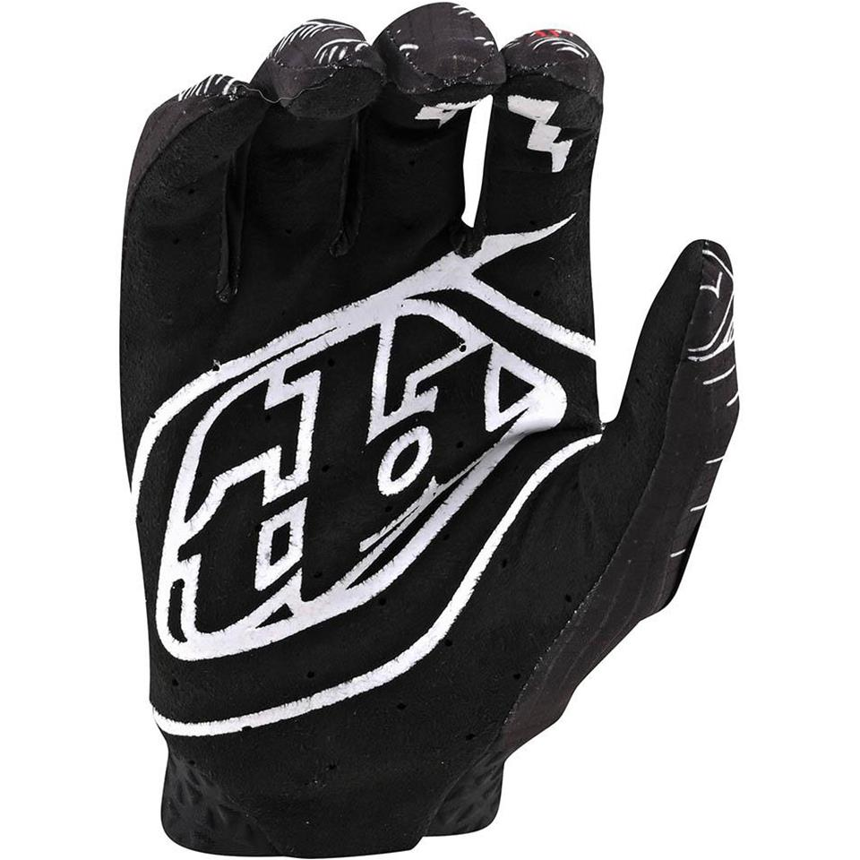 Troy Lee Limited Edition Air Race Glove - Boneyard Black