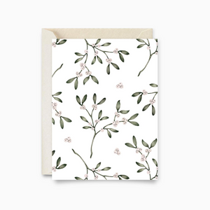 Greeting Card | Winter Berry Branches
