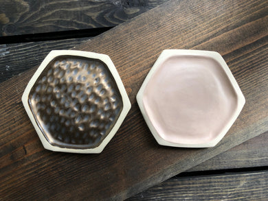 Hexagon Soap Dish