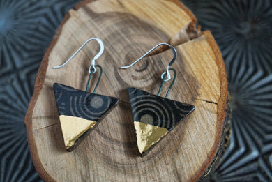 Triangle Hanger Earrings