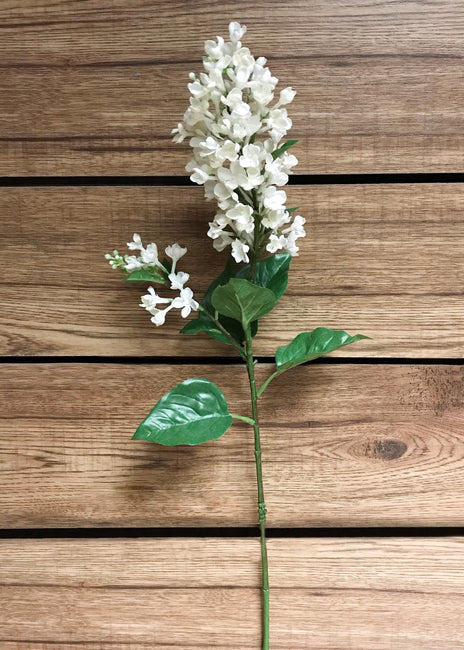 "ITEM 00955 W - 32.5"" WHITE LILAC SPRAY"