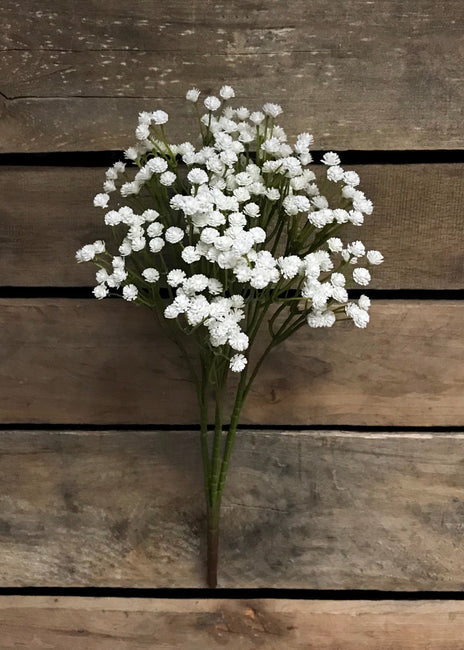 "ITEM 10152 W - 15"" WHITE GYPSOPHLIA BUSH"