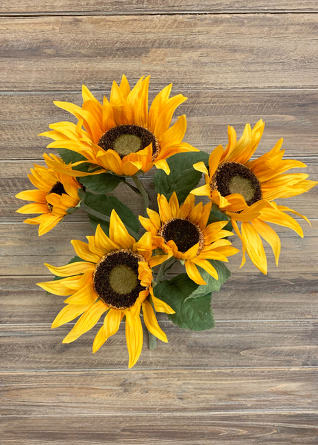 "ITEM 10160 - 18"" SUNFLOWER BUSH X 5"