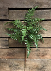 "ITEM 11225 - 27"" FRESH TOUCH FERN SPRAY"