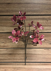 "ITEM 11268 BUR - 31"" BURGUNDY FICUS SPRAY X 2"