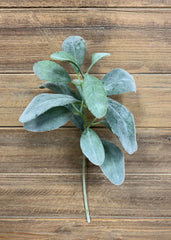 "ITEM 11309 - 15"" LAMBS EAR STEM"
