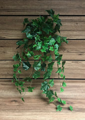 "ITEM 12219 - 28"" GREEN ENGLISH IVY BUSH WITH 144 LEAVES"