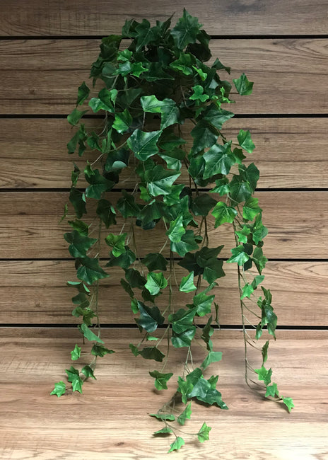 "ITEM 12220 - 40"" GREEN ENGLISH IVY BUSH WITH 244 LEAVES"