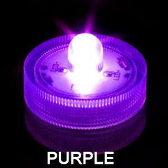 ITEM 1274 PUR - LED PURPLE SUBMERSIBLE T-LITE WITH ONE BULB