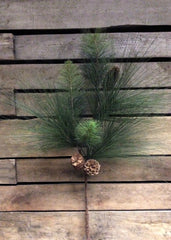 "ITEM 81023 -  30"" PINE SPRAY WITH PINE CONES"