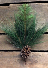 "ITEM 81134 -  12"" MIXED PINE AND PINE CONE PICK"