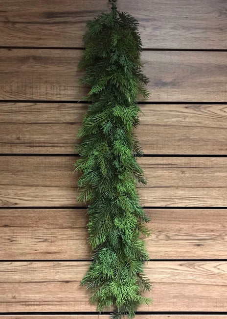 "ITEM 81264 - 38"" REAL TOUCH CEDAR AND HEMLOCK GARLAND"