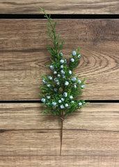 "ITEM 81280 - 12"" JUNIPER SPRAY X 8"