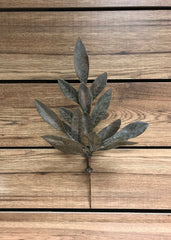 "ITEM 81352 - 16.5"" COPPER TONE BAY LEAF SPRAY X 3"
