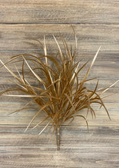 "ITEM 81358 GD - 17"" GOLD GRASS BUSH"